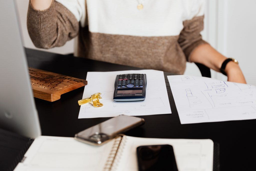 business accountant northgate woman with calculator